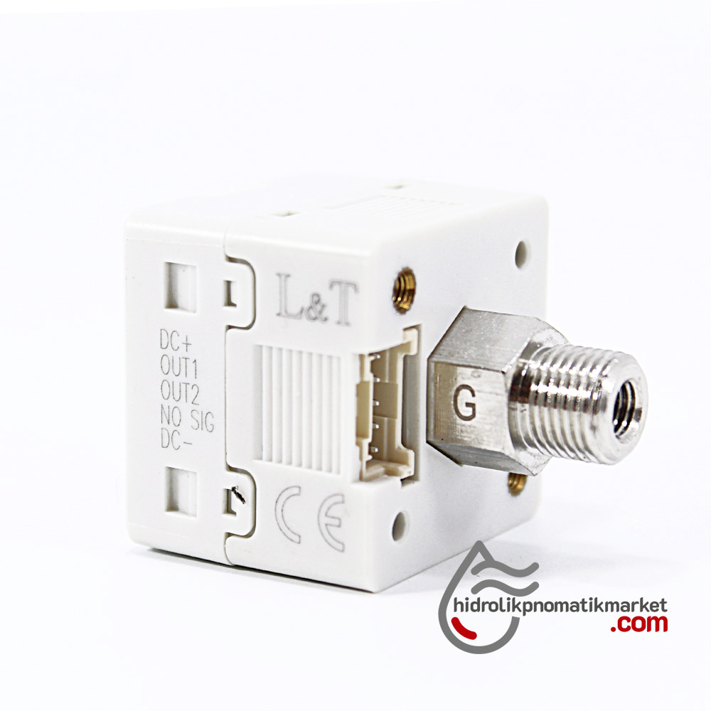Dijital Basınç Sensörü MRT7001 1xPNP 1XNPN 0/+10 Bar 12-24V DC 1/8