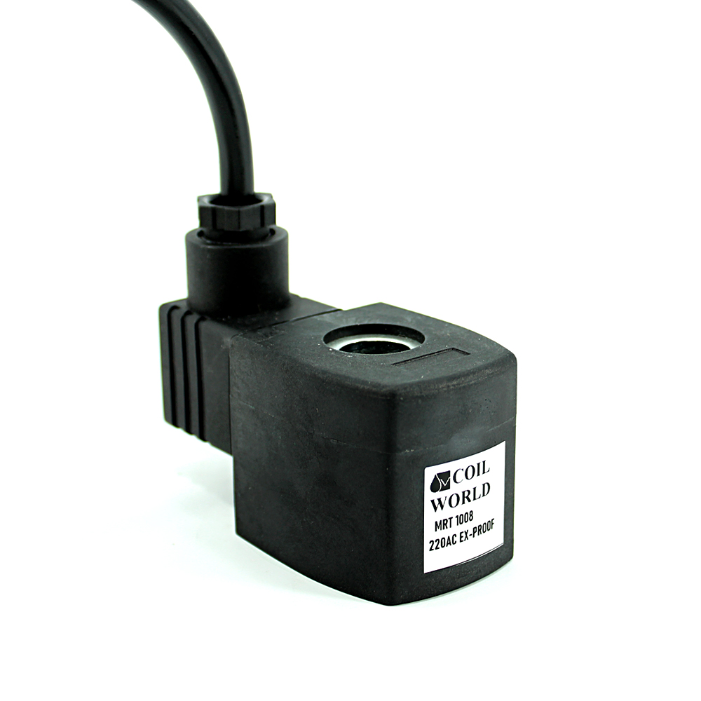 MRT 1008 220V AC Ex-Proof Bobin İç Çap 13mm x Boy 41mm - Soketli