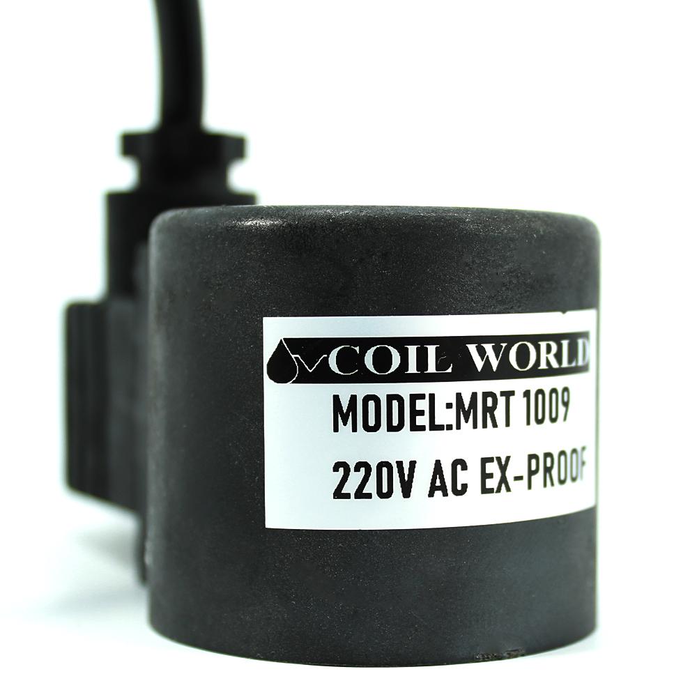 MRT 1009 220V AC Ex-Proof Bobin İç Çap 16mm x Boy 43,5mm - Soketli