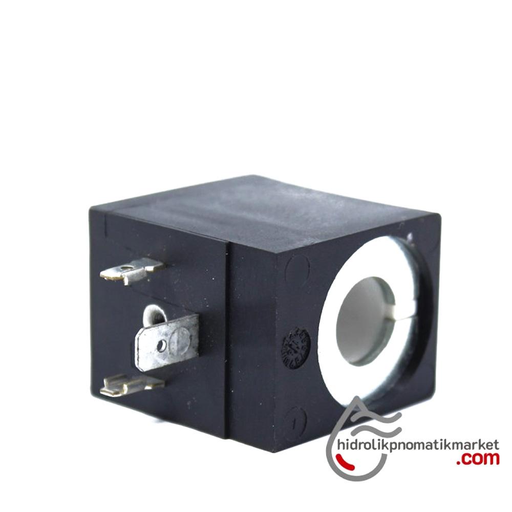 MRT 4402-1 24V DC Hidrolik Valf Bobini İç Çap 13mm x Boy 40mm - DIN 43650 evı5m/13 amısco