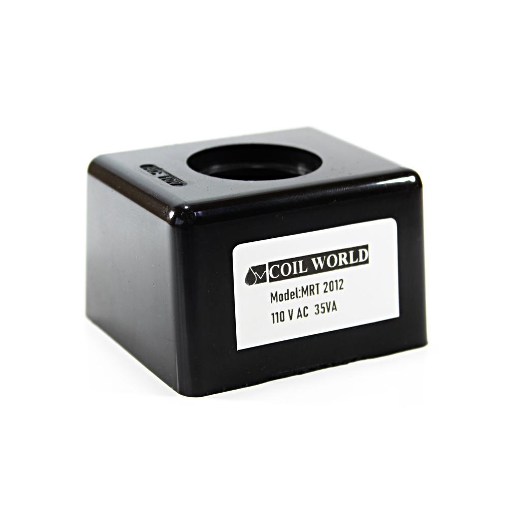 MRT 2012 110V AC Hidrolik Valf Bobini İç Çap 25,5mm x Boy 44,5mm - DIN 43650