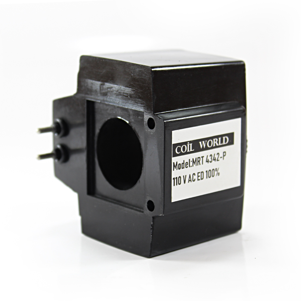 MRT 4342 110V AC Pimli Hidrolik Valf Bobini İç Çap 26,1mm x Boy 49mm