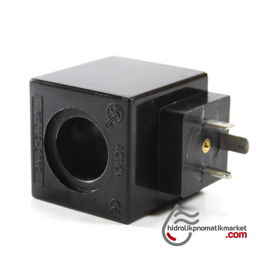 MRT 4378 110V AC Hidrolik Bobini İç Çap 22mm x Boy 46mm - DIN 43650
