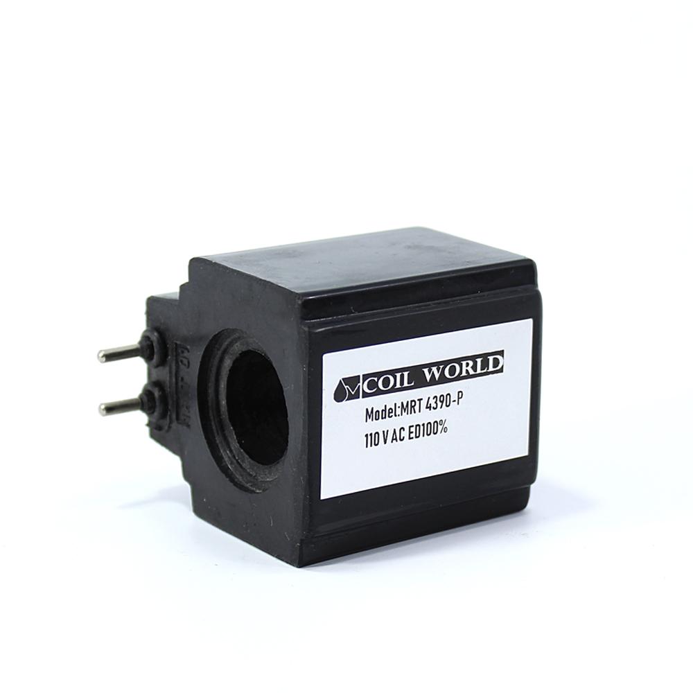 MRT 4390P110VAC Hidrolik Bobini İç Çap 20mm x Boy 51,5mm - Pimli