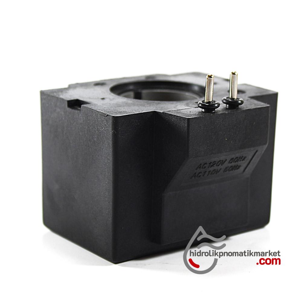 MRT 4414P 110V AC Hidrolik Bobini İç Çap 26,2mm x Boy 49mm - Pimli