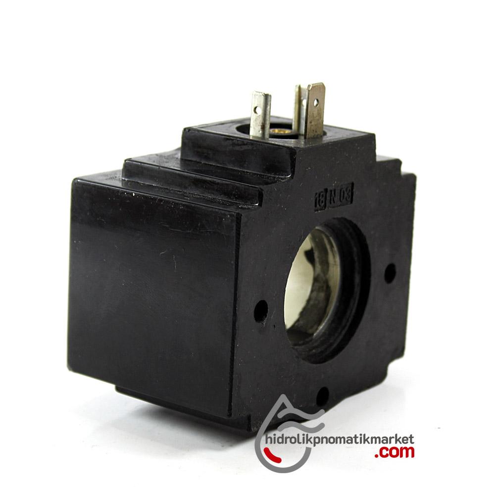 MRT 4432 110V AC Hidrolik Bobin İç Çap 26mm x Boy 49,5mm - DIN 43650