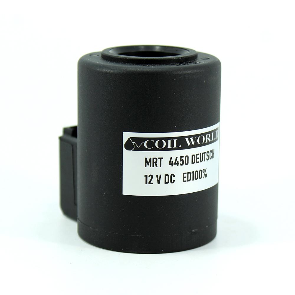 MRT 4450 12V DC İş Makinesi Bobini İç Çap 21mm x Boy 59,2mm - DEUTSCH