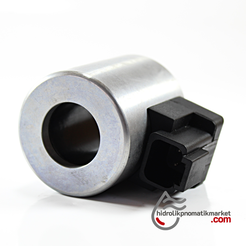 MRT 4372 12V DC Metal İş Makinesi Bobini İç Çap 23,2mm x Boy 50,5mm - DEUTSCH