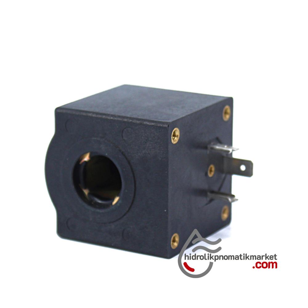 MRT 4298 220V AC Hidrolik Valf Bobini İç Çap 15mm x Boy 45,5mm - DIN 43650