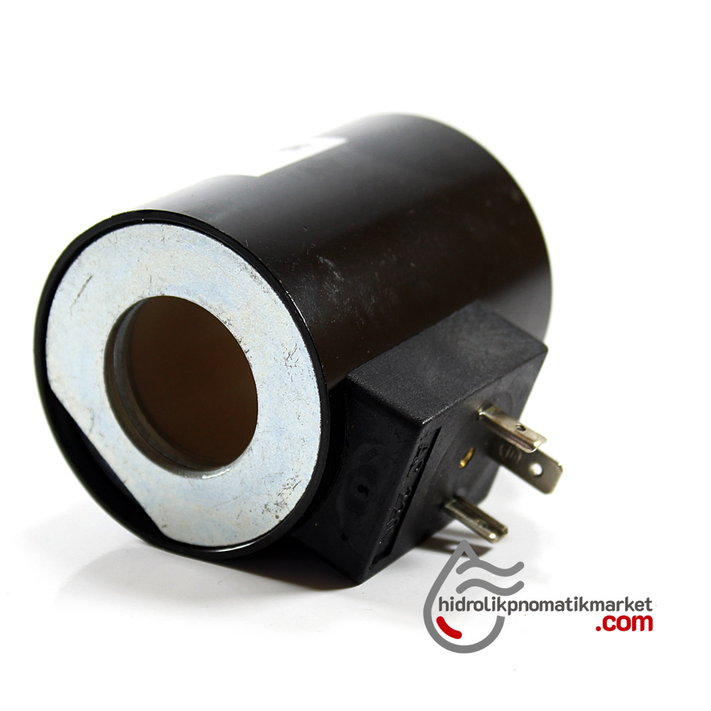 MRT 4346 220V AC Hidrolik Valf Bobini İç Çap 27,3mm x Boy 68mm - DIN 43650