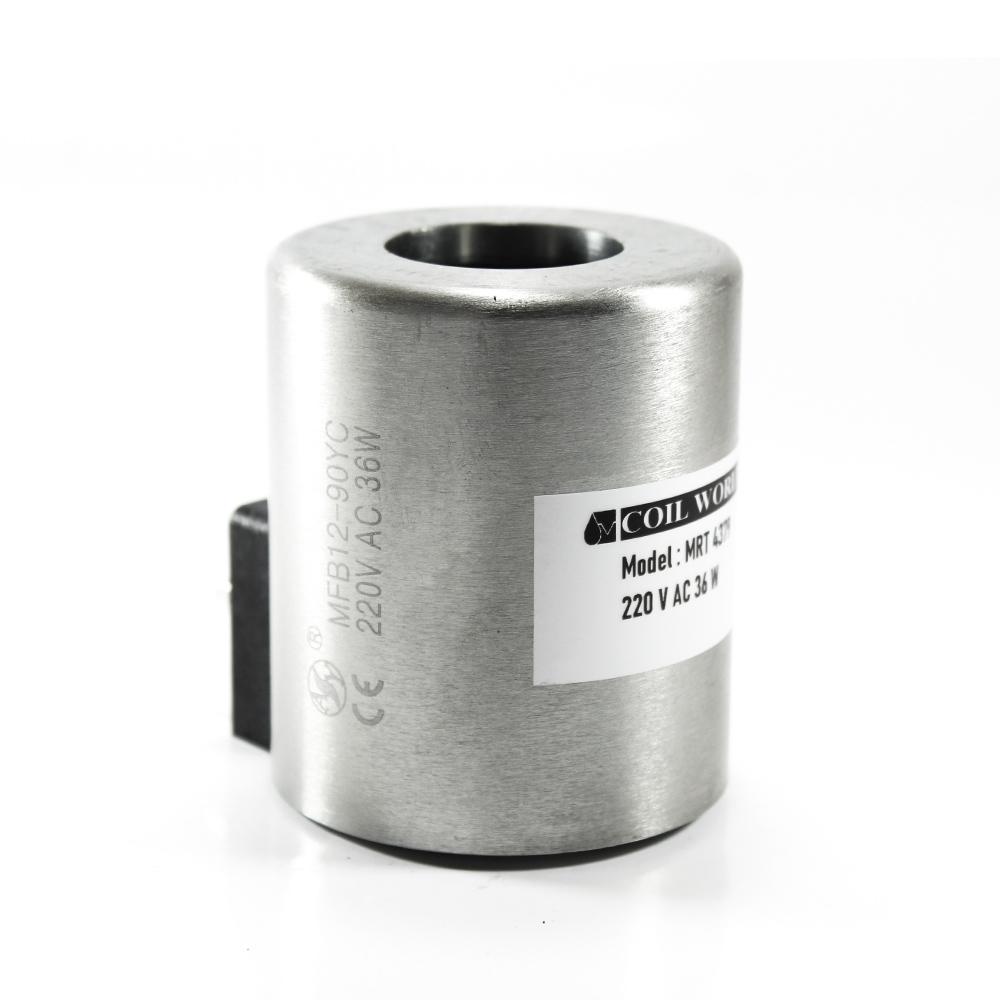 MRT 4379 220V AC Hidrolik Bobin İç Çap 31,5mm x Boy 75mm - DIN 43650