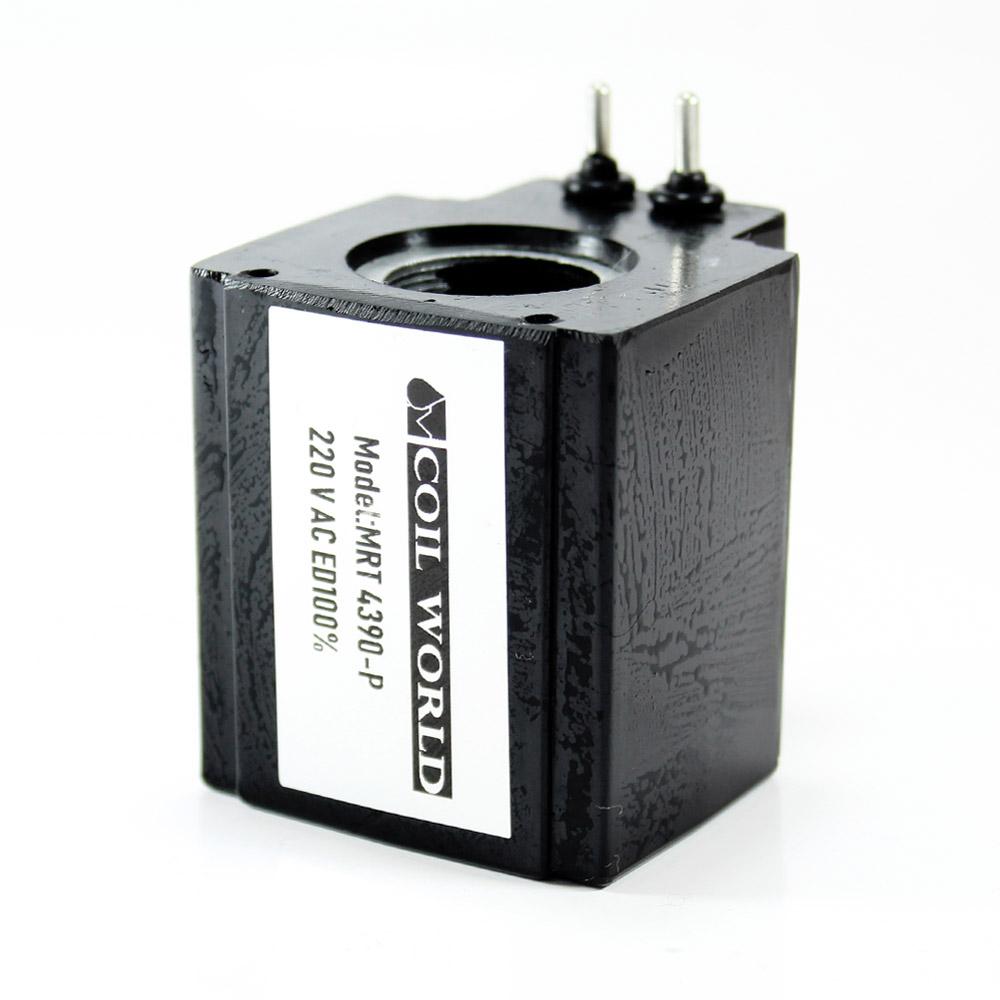 MRT 4390P 220VAC Hidrolik Bobini İç Çap 20mm x Boy 51,5mm - Pimli