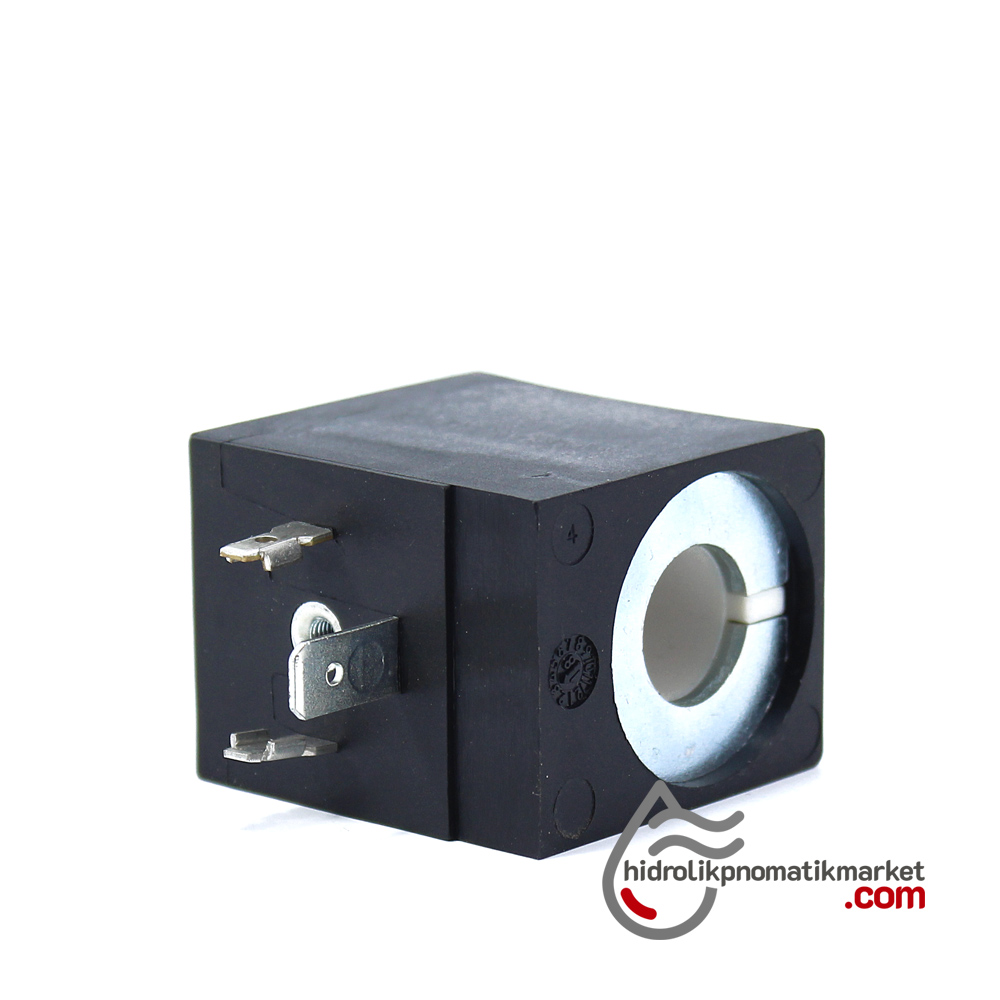 MRT 4402-1 110V AC  W Hidrolik Valf Bobini İç Çap 13mm x Boy 40mm - Soketli evı5m/13 amısco