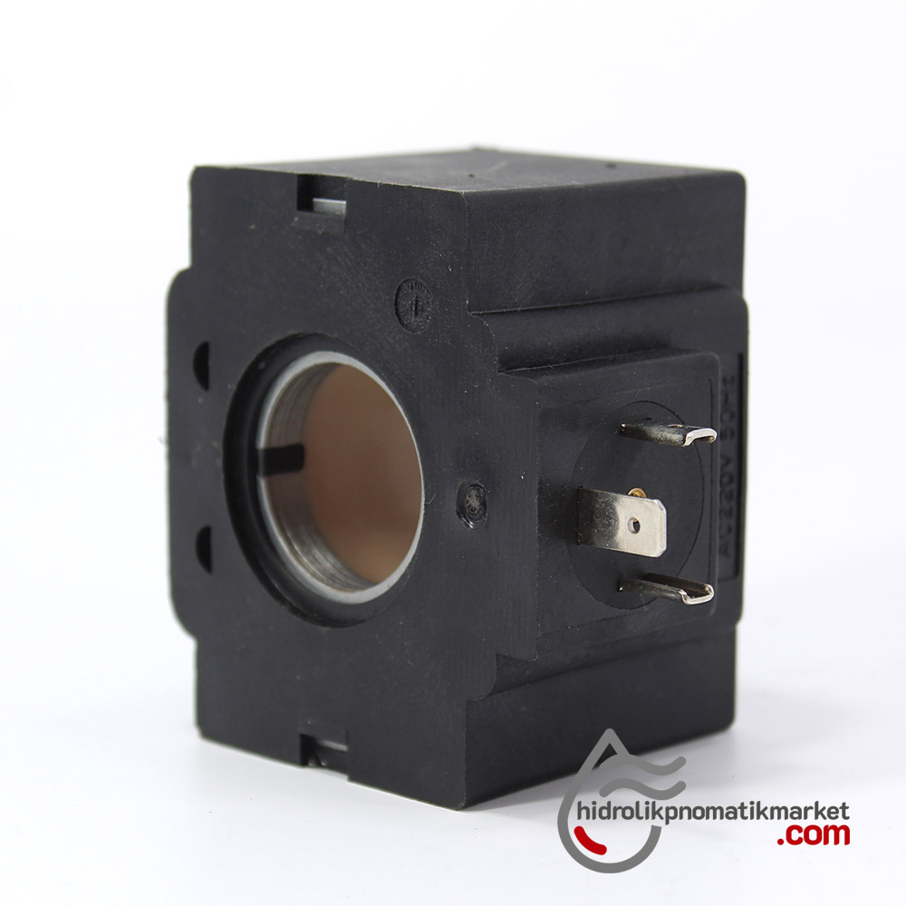 MRT 4414 220V AC Hidrolik Valf Bobini İç Çap 26,2mm x Boy 49mm - DIN 43650 vickers bobin