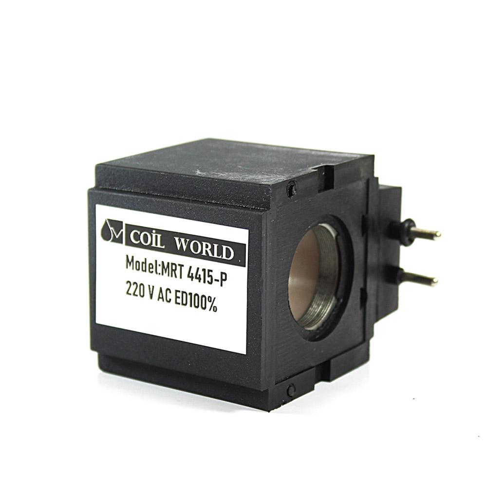 MRT 4415P 220V AC Hidrolik Bobini İç Çap 21mm x Boy 44,2mm - Pimli