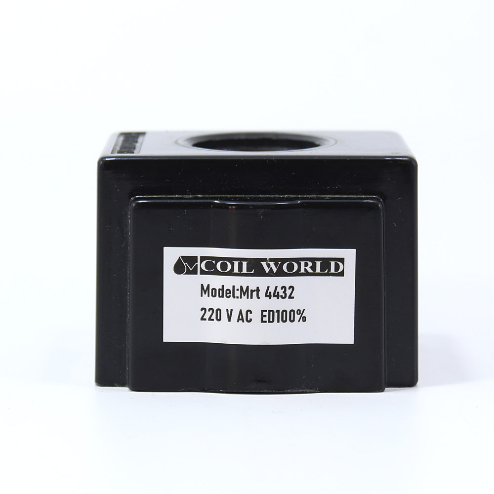 MRT 4432 220V AC Hidrolik Valf Bobini İç Çap 26,1mm x Boy 49,5mm - DIN 43650