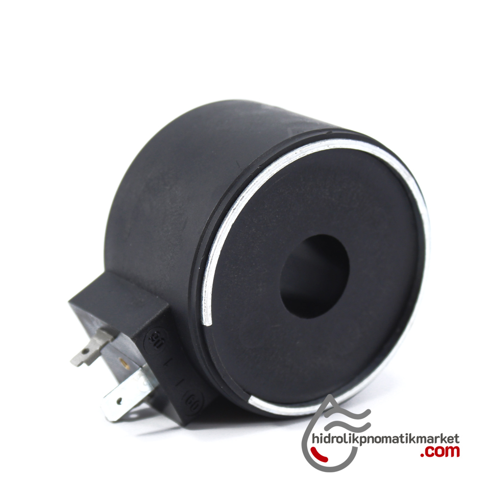 MRT 4461 220V AC Hidrolik Valf Bobini İç Çap 18mm x Boy 39mm - DIN 43650  NG10
