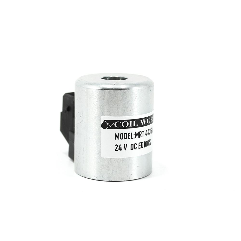 MRT 4435 24V DC Metal İş Makinesi Bobini İç Çap 12,9mm x Boy 46,5mm - AMP