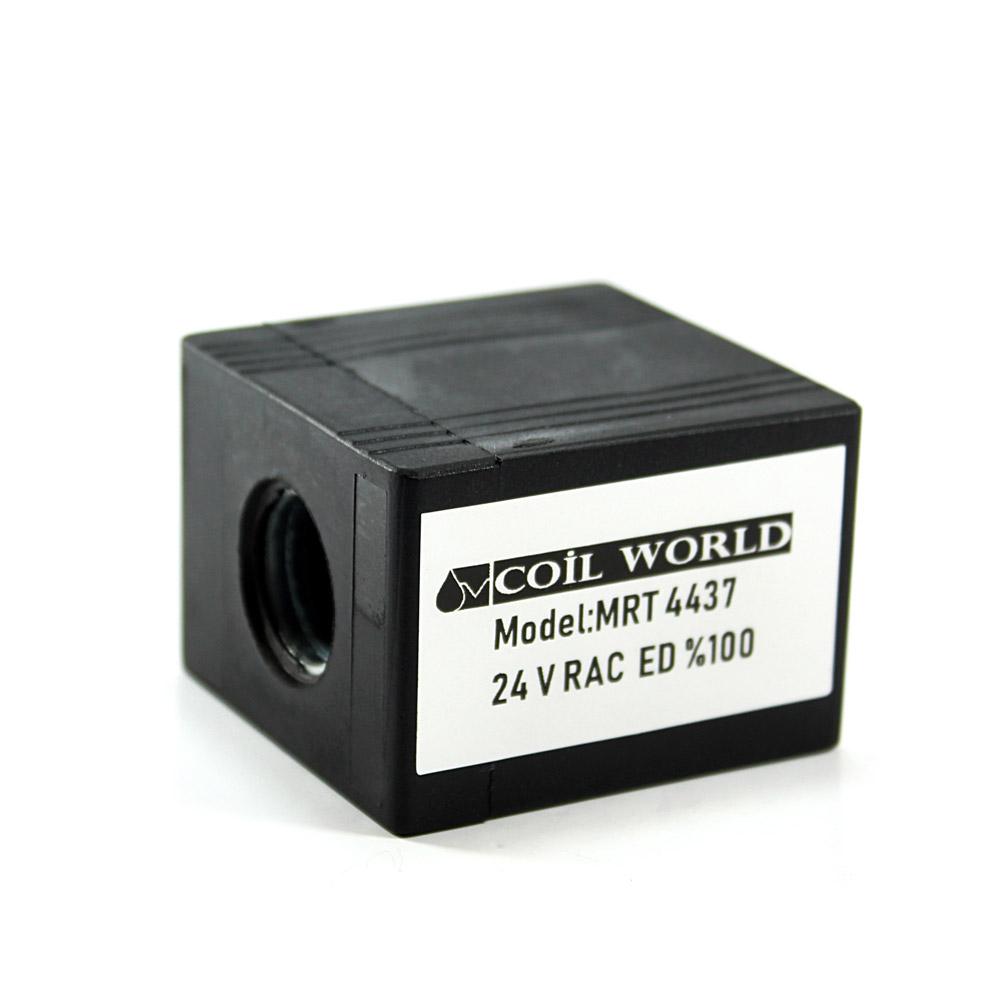 MRT 4437 24V RAC Hidrolik Valf Bobini İç Çap 16mm x Boy 50mm - DIN 43650