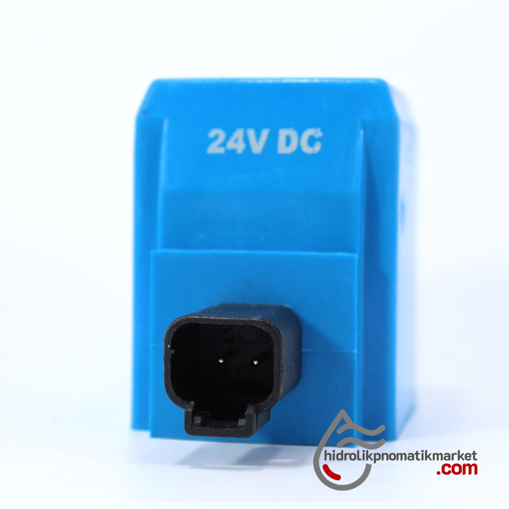 MRT 4405 24V DC İş Makinesi Bobini İç Çap 23,7mm x Boy 60mm - DEUTSCH VİCKERS