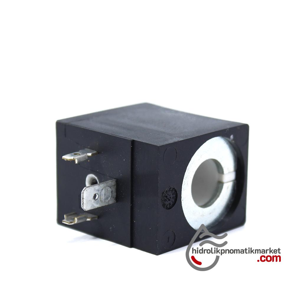MRT 4402 24V DC Hidrolik Valf Bobini İç Çap 13mm x Boy 40mm - DIN 43650