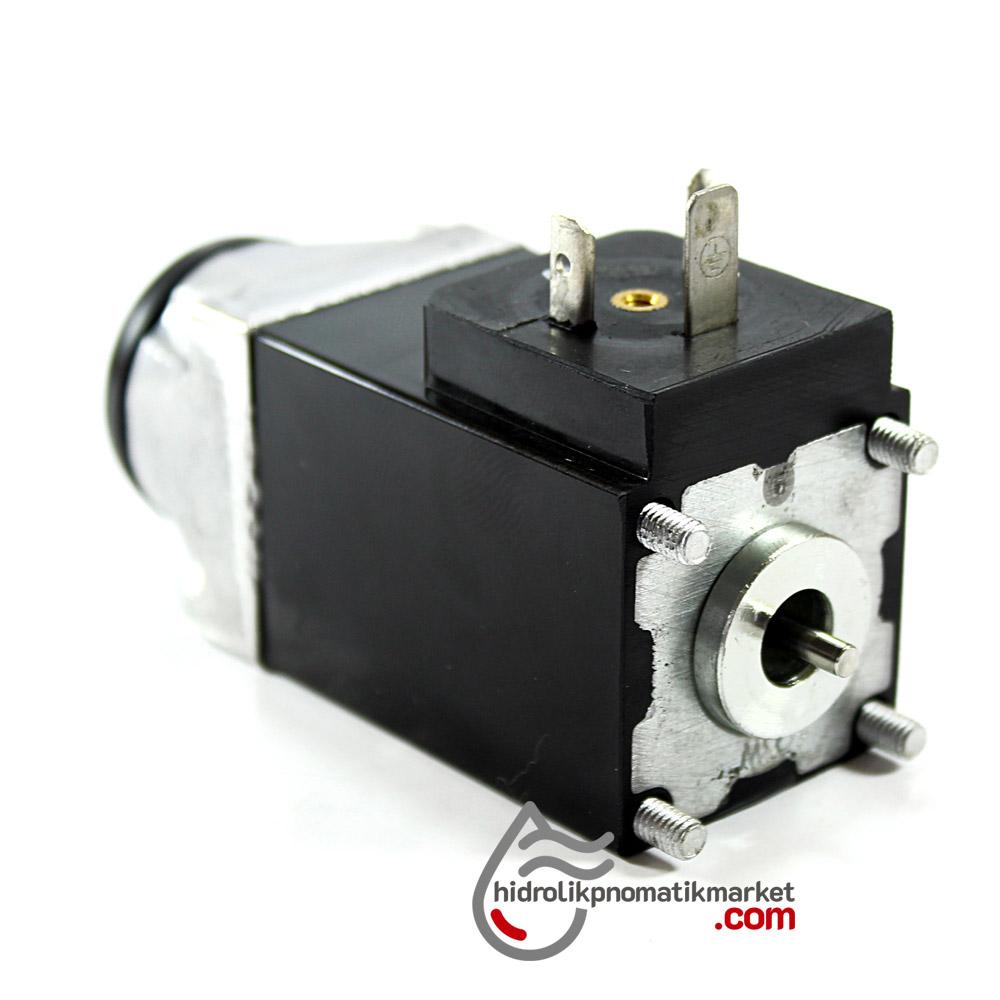 MRT 4403 24V DC Vidalı Hidrolik Valf Bobini İç Çap 28mm x 35x35mm - DIN 43650