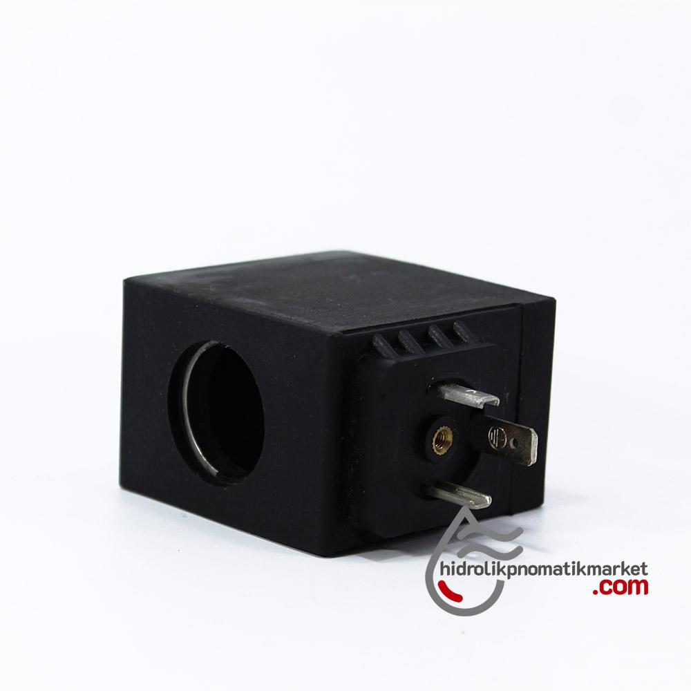 MRT 4433 24V DC Hidrolik Valf Bobini İç Çap 22mm x Boy 55mm - DIN 43650 Z8012V60W