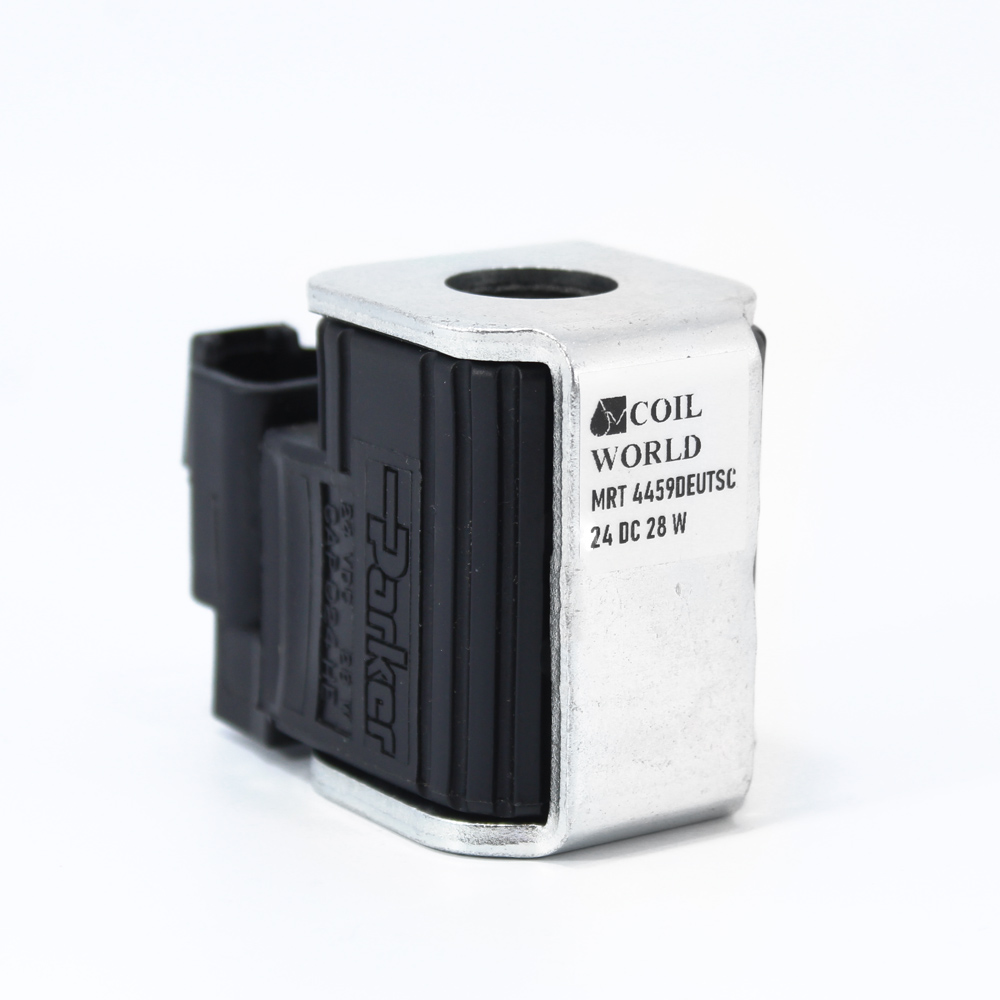 MRT 4459 24V DC Deutsch Hidrolik Solenoid Bobin İç Çap 16mm x Boy 50mm - DIN 43650