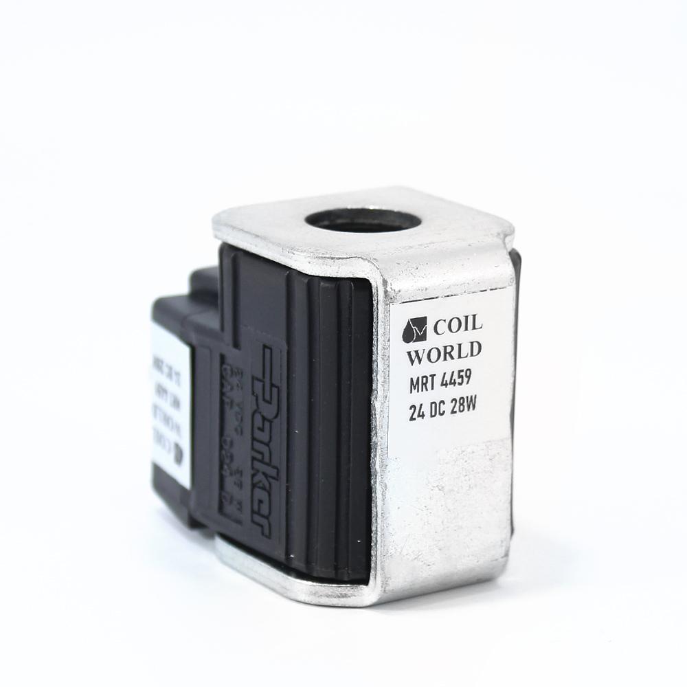 MRT 4459 24V DC Soğutuculu Hidrolik Solenoid Bobin İç Çap 16mm x Boy 50mm - DIN 43650 28W