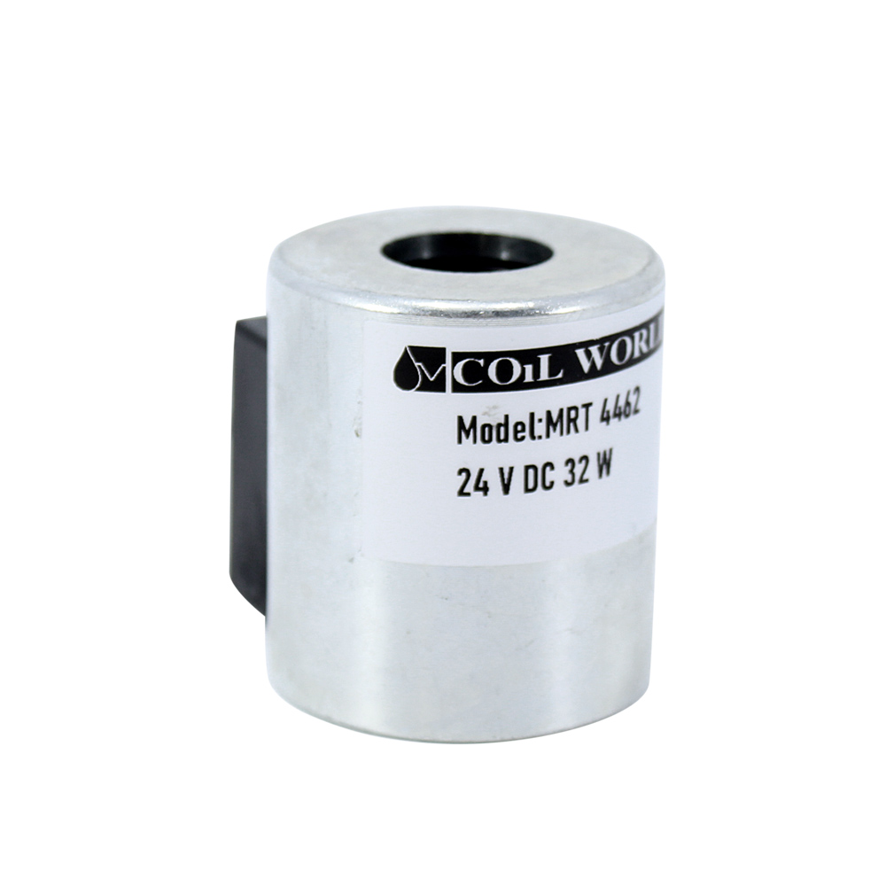 MRT 4462 24V DC Hidrolik Valf Bobini İç Çap 18mm x Boy 47mm - DIN 43650