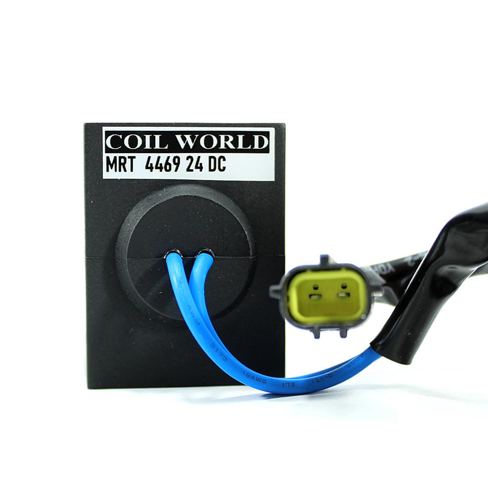 MRT 4469 24V DC Hidrolik Valf Bobini İç Çap 13,2mm x Boy 51,5mm - Kablolu