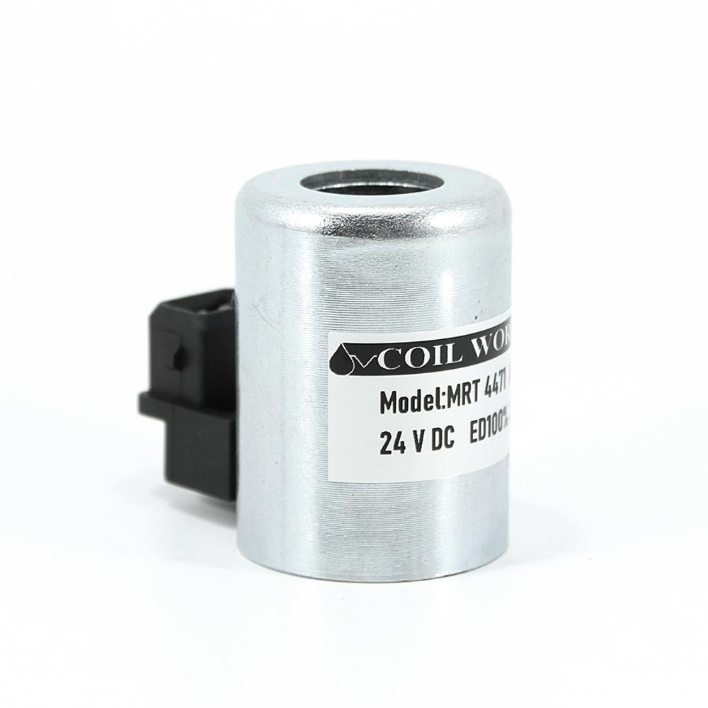 MRT 4471 24V DC Metal İş Makinesi Bobini İç Çap 19,5mm x Boy 50mm -amp