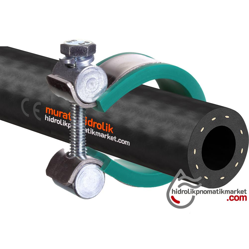 Hidrolik Hortum Kelepçesi Çap Aralığı 12mm - 70mm -Metrik M6 / M8