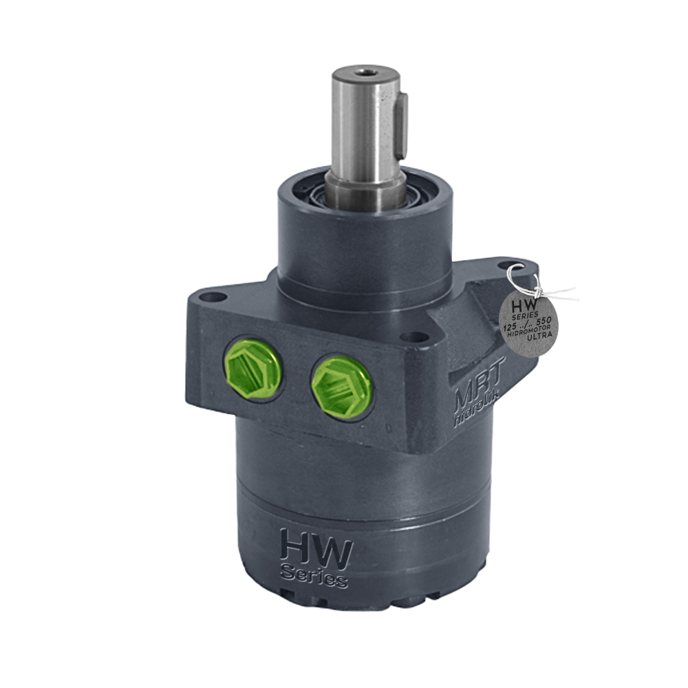 HW 535  Hidro Motor HW 535 Hidro Motor Hidrolik Motor Mil Çapı 32mm  536Cm³   140d/dk Max Db:75lt