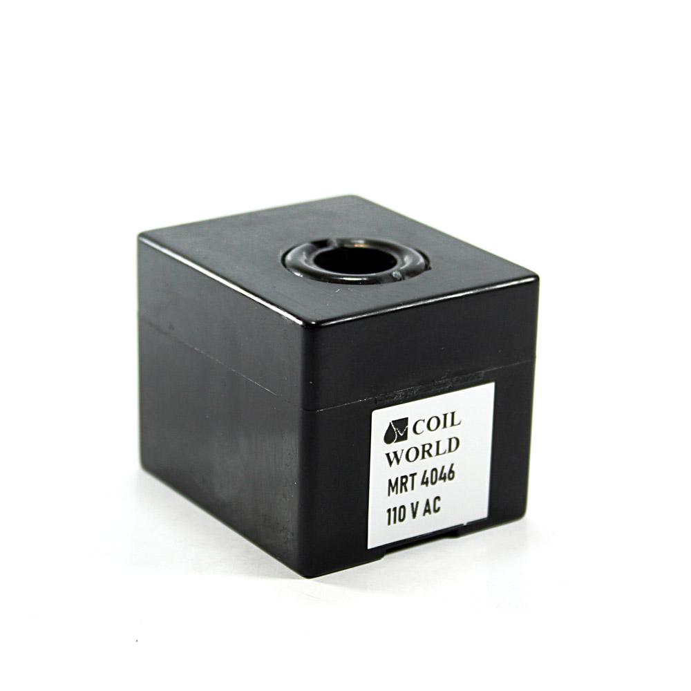MRT4046 Pnömatik Valf Ventil Bobin 110V AC İç Çap 11mm x Boy 36mm - DIN 43650 Soket Bobin