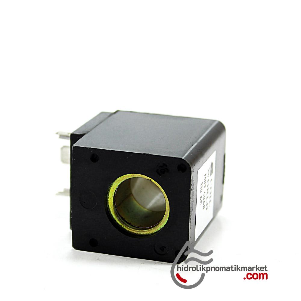 MRT 4048 Pnömatik Valf Ventil Bobin 110V AC İç Çap 14,5mm x Boy 42mm - DIN 43650 Soket Bobin