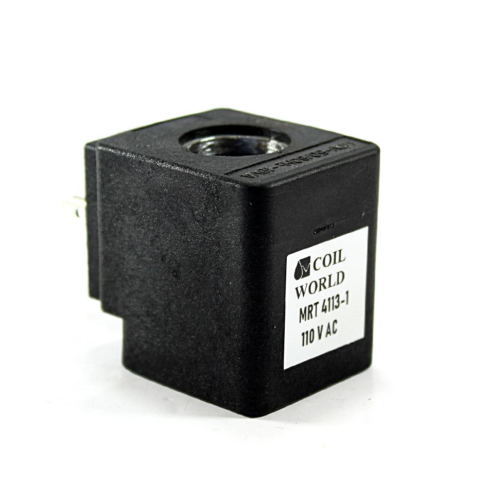 MRT4113-1 Pnömatik Hava Ventil Valf Bobini 110V AC İç Çap 15x15mm x Boy 39mm - DIN 43650 Soket Bobin