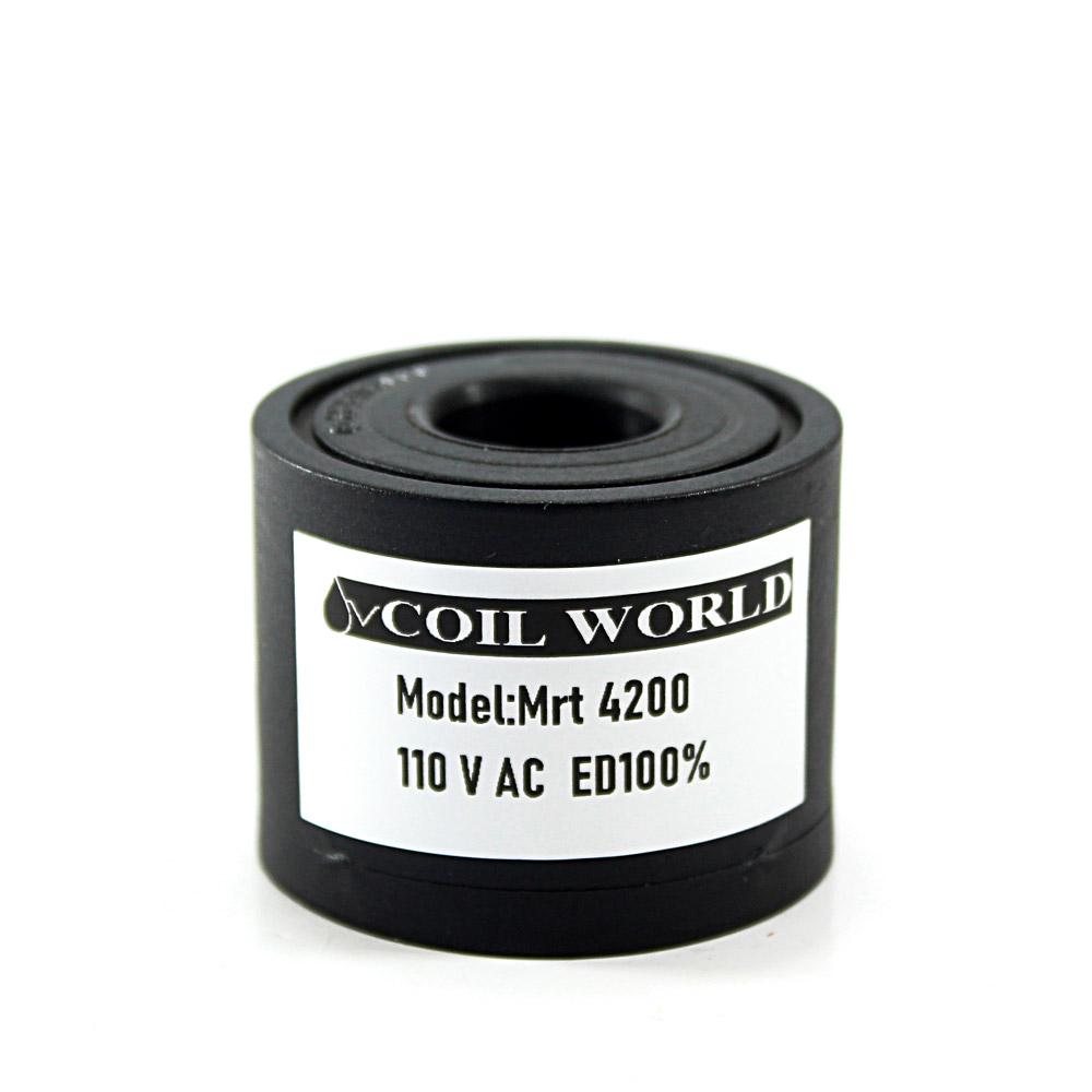 MRT 4200 110V AC Pnömatik Valf Bobini İç Çap 15mm x Boy 32mm - Vidalı
