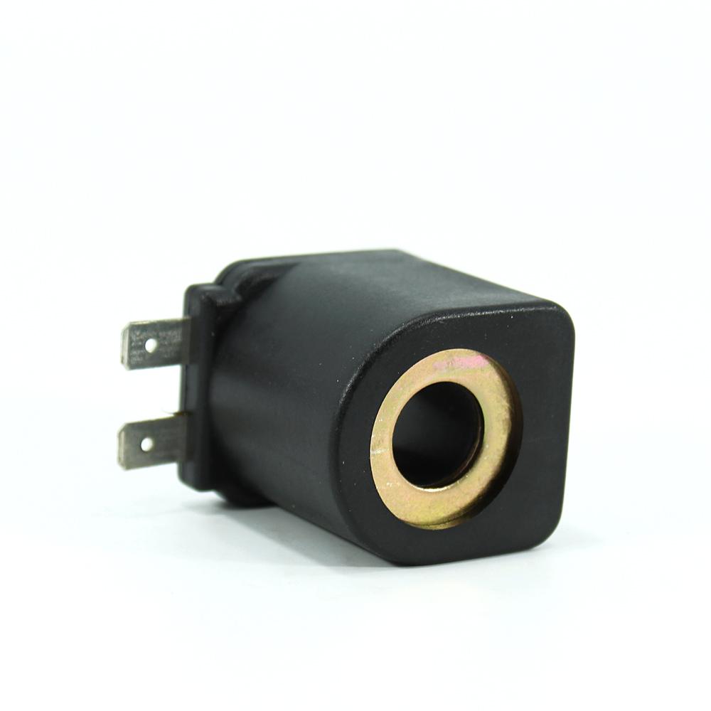 MRT2022 Pnömatik Hava Ventil Valf Bobini 12V DC İç Çap 13,3mm x Boy 37mm - DIN 43650 Soket Bobin tork bobin