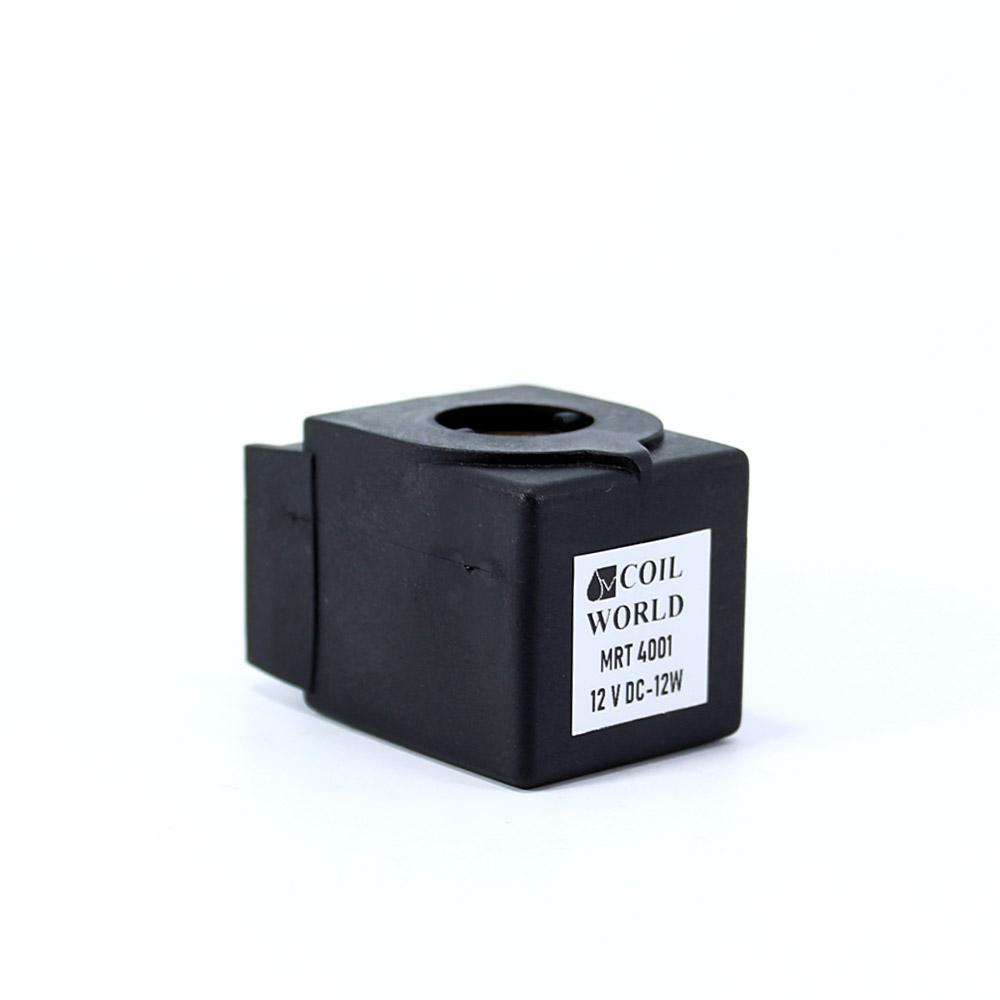 MRT4001 Pnömatik Valf Bobin 12V dC İç Çap 11mm x Boy 35,5mm - DIN 43650 Soket Bobin Castel