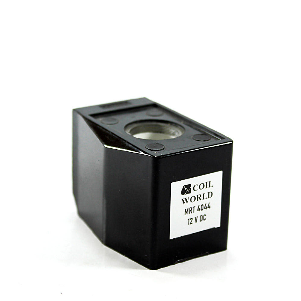 MRT4044 Pnömatik Valf Ventil Bobin 12V DC İç Çap 16mm x Boy 39mm - DIN 43650 Soket Bobin