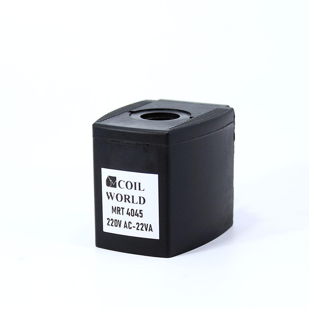 MRT4045 Pnömatik Valf Bobin 220V AC İç Çap 14,5mm x Boy 40,5mm - DIN 43650 Soket Bobin