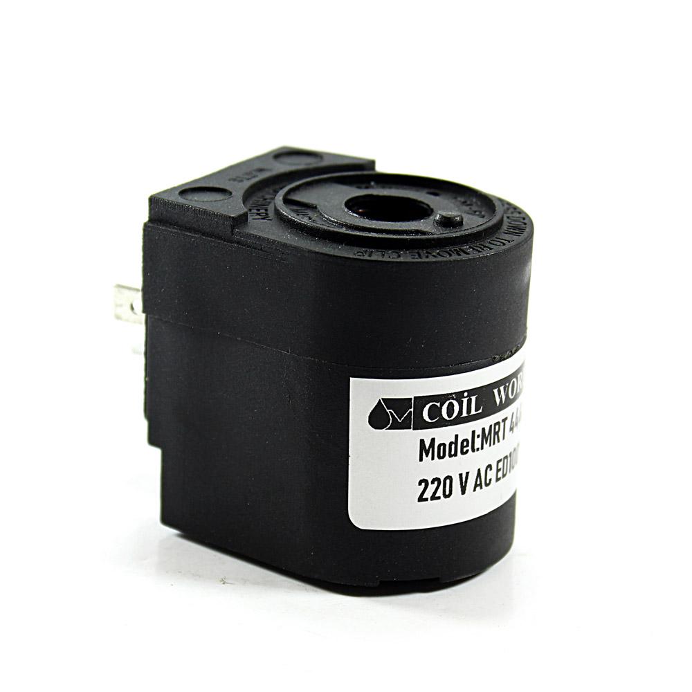 MRT 4448 220V AC Pnömatik Valf Bobini İç Çap 14,1mm x Boy 45,7mm - DIN 43650