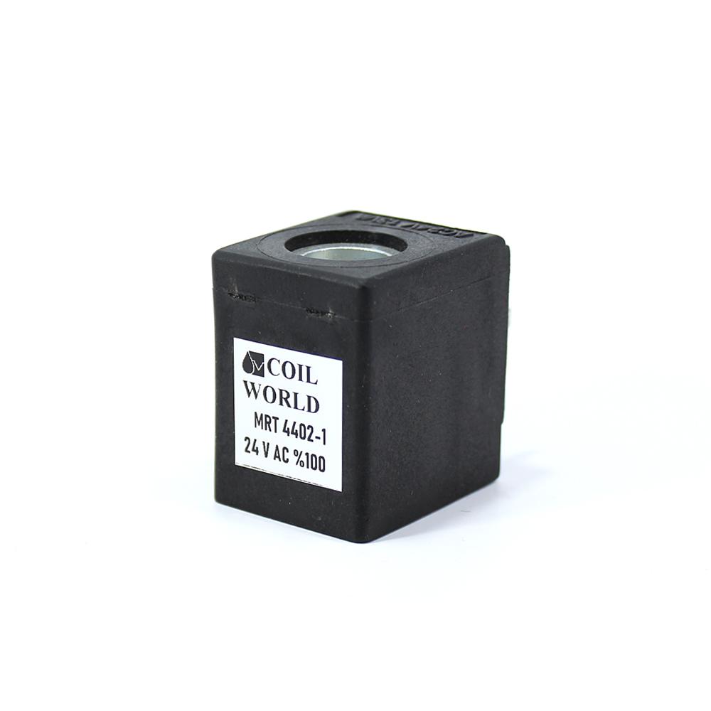 MRT 4402-1 24V AC Hidrolik Valf Bobini İç Çap 13mm x Boy 40mm - Soketli evı5m/13 amısco