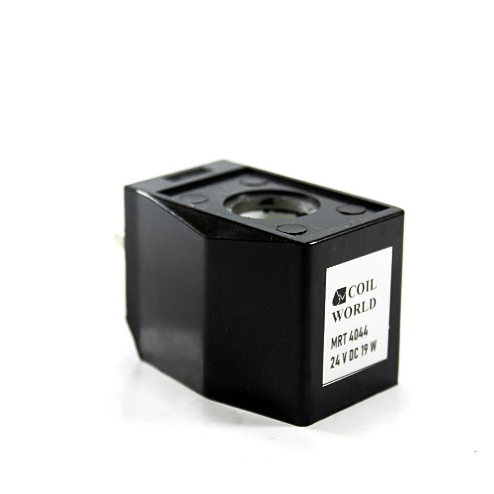 MRT4044 Pnömatik Valf Ventil Bobin 24V DC kablolu  İç Çap 16mm x Boy 39mm - DIN 43650 Soket Bobin