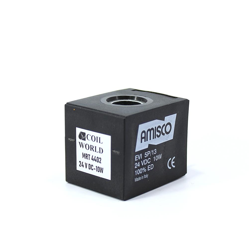 MRT 4402 24V DC Hidrolik Valf Bobini İç Çap 13mm x Boy 37mm - DIN 43650 amısco evı5p/13