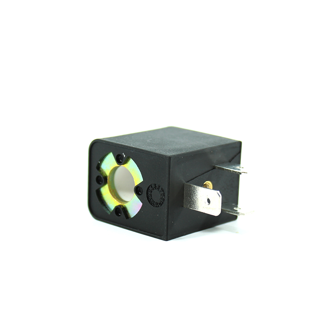 MRT4006 Pnömatik Valf Bobin 48V DC İç Çap 9mm x Boy 29,5mm - DIN 43650 Soket Bobin