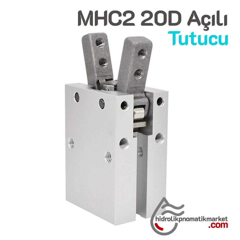 MHC2-20D Açılı Tutucu Gripper - Pnömatik Tutucu Kol