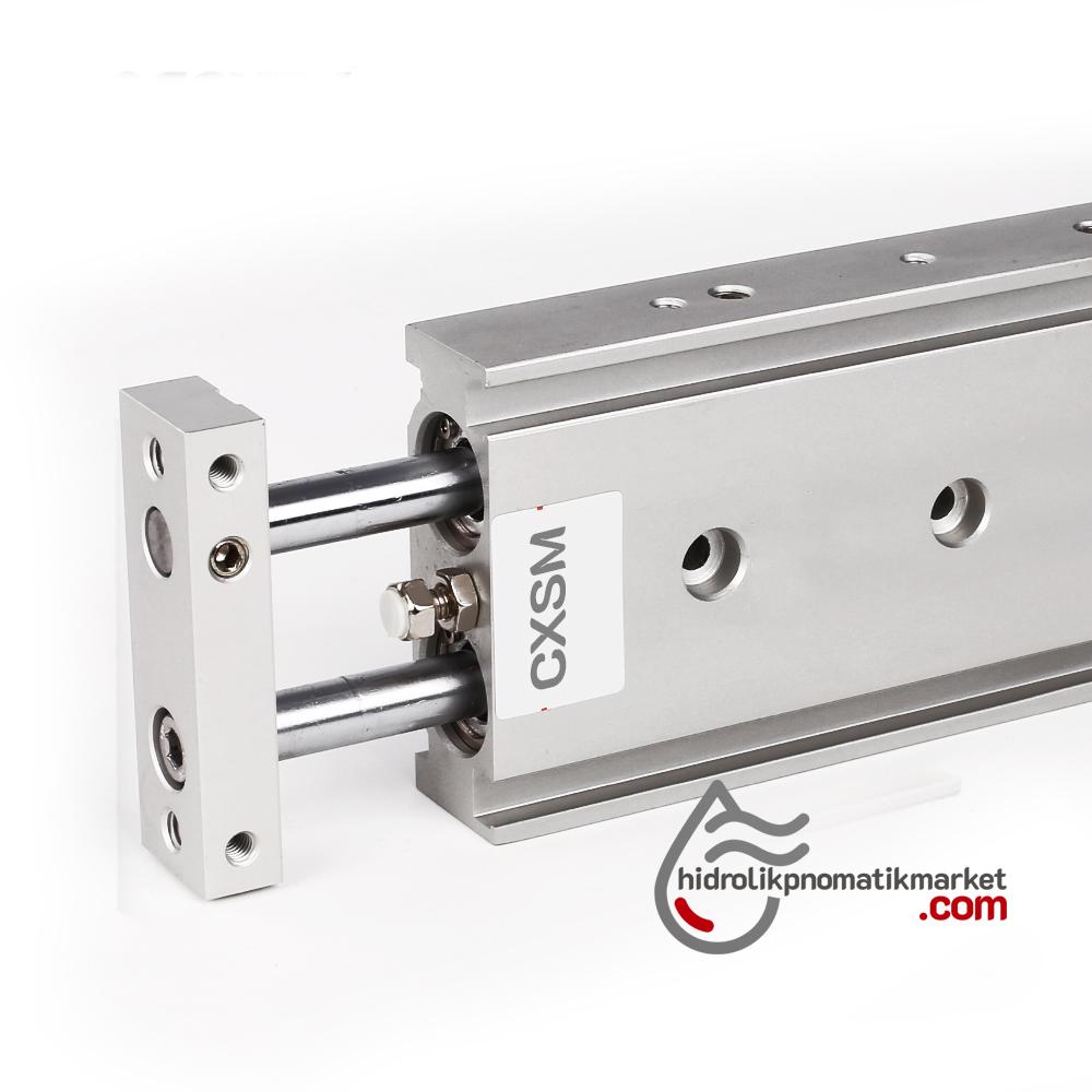 CSMX 6x10 Çift Piston Silindir Pnömatik Piston - Yedek Parça