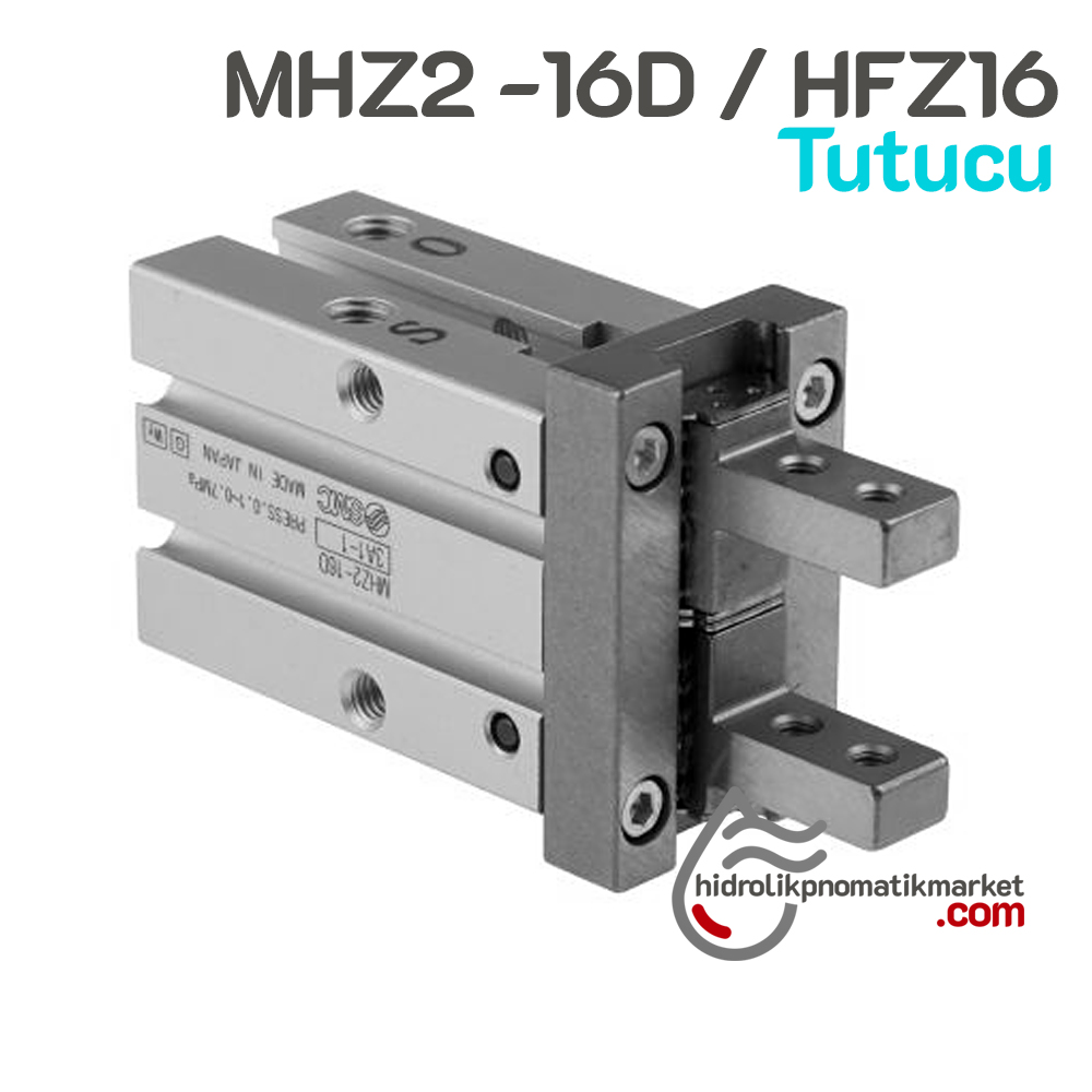 MHZ2-16D Paralel Tutucu Kol Pnomatik Tutucu Gripper